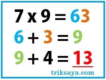 trik sulap menebak angka yang dipikirkan