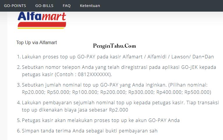 Minimal Top Up GoPay Berapa Sih?