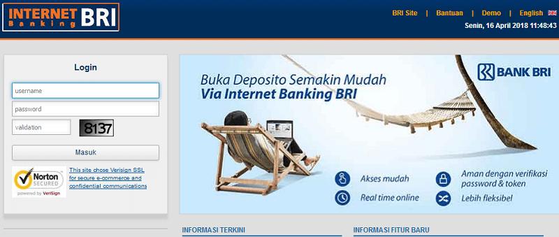 Cara Bayar BPJS Lewat Internet Banking BRI
